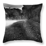 Fishing The River Beauly Throw Pillow