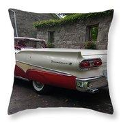 Ford Fairlane  Throw Pillow