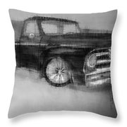 Ford Pick Up Throw Pillow