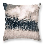Gettysburg Union Infantry 9360s Throw Pillow