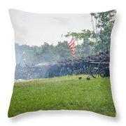Gettysburg Union Infantry 9968c Throw Pillow