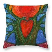 Greeting Of Joy Throw Pillow