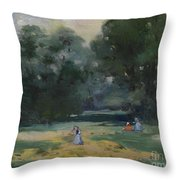 Haymakers Gotha Germany Throw Pillow