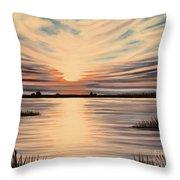Highlights Of A Sunset Throw Pillow