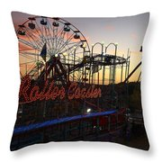 Holiday World 2 Throw Pillow