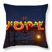 Holiday World 4 Throw Pillow