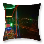 Holiday World 5 Throw Pillow