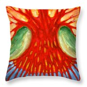 I Burn For You Throw Pillow