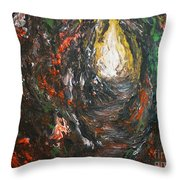 I See Light Throw Pillow