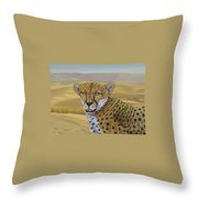 In  Alert Throw Pillow