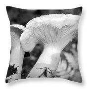 In The Evening Potatoes With Mushrooms Mmm Throw Pillow