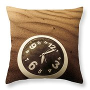 In Waves Of Lost Time Throw Pillow
