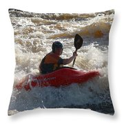 Kayak 3 Throw Pillow