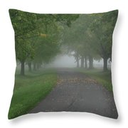 Knox Fog 6038 Throw Pillow