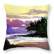 Ko Olina Sunset Throw Pillow