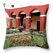 Lima Peru Garden Throw Pillow