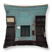 Lima Peru Wall Throw Pillow