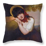 Maria Tollemache Throw Pillow