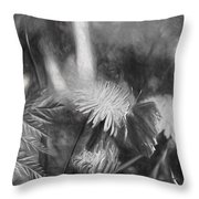Monochromeartistic Panterly Artistic Painterly Gonepteryx Rhamni Common Brimstone Throw Pillow