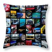 Mustang Art -01 Throw Pillow