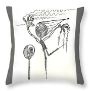 My Other Half Throw Pillow