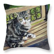 Nap Time For Baby Throw Pillow