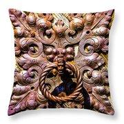 Old Knocker Throw Pillow