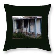 Old Porch Throw Pillow