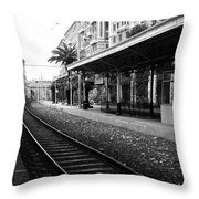 Old World Charm Throw Pillow