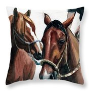 Overlapping Throw Pillow