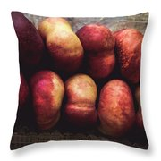 ... Pesche Tabacchiere ... Throw Pillow