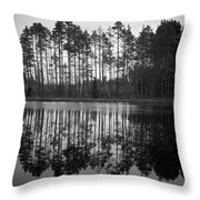 Pitkajarvi 5 Throw Pillow