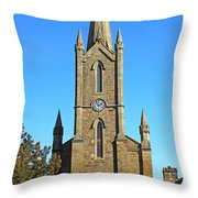 Pointed Church Throw Pillow