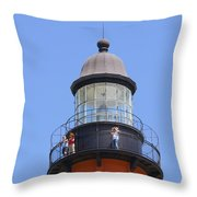 Ponce De Leon Inlet Lighthouse  Throw Pillow