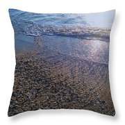 Refreshing Surf Throw Pillow