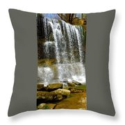 Rock Glen Falls Iphone 6s Throw Pillow