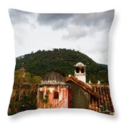 Roof Top View 3 Throw Pillow