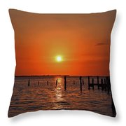 Running On Borrowed Dreams Throw Pillow