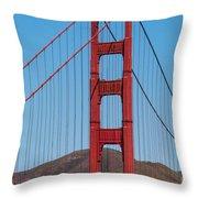 San Fransisco Bay Bridge Throw Pillow