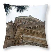 Sancti Pauli Ad Aquas Salvias Throw Pillow