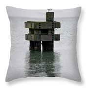 Seagull's Rest Throw Pillow