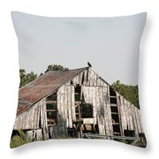 South Of Moberly Throw Pillow