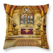 St Lawrence Seal Chart - Chancel Throw Pillow