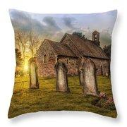 St Oswald At Sundown Throw Pillow