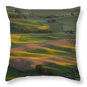 Steptoe Butte 10 Throw Pillow