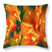 Symphonic Dance Throw Pillow
