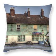 The Bricklayers Arms New Hythe Throw Pillow