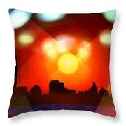 The Omniscient Optics Throw Pillow