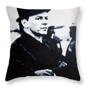 - The Winter Wind - Throw Pillow