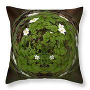 This Little Anemone  Planet 4 Throw Pillow